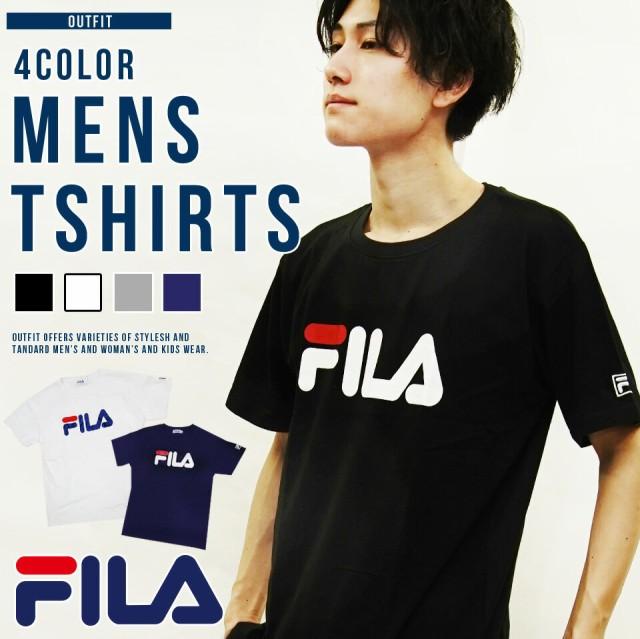 送料無料 FILA フィラ Tシャツ メンズ 半袖 スポ...