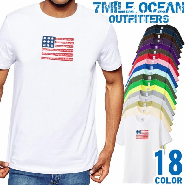 7MILE OCEAN Tシャツ メンズ 半袖 カットソー ア...