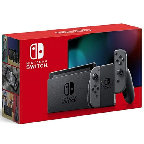Nintendo Switch [グレー] 2019年8月新モデル【新...