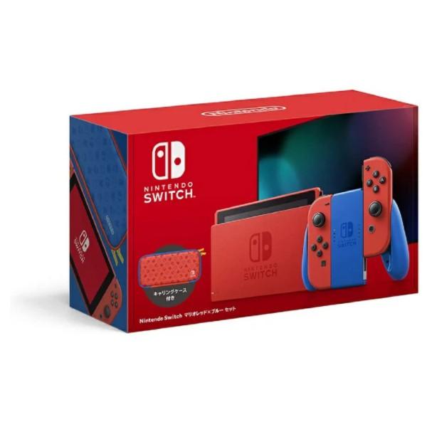 任天堂 Nintendo Switch マリオレッド×ブルー セ...