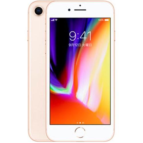 SIMロック解除品 iPhone8 64GB (ゴールド) スマ...