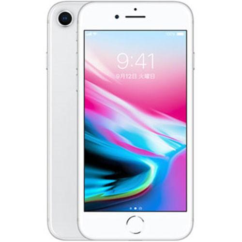 SIMロック解除品 iPhone8 64GB (シルバー) スマ...
