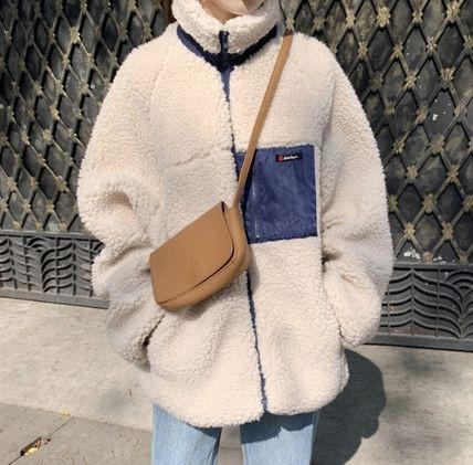 韓国ファッション アウター ボアジャケット ボア ...