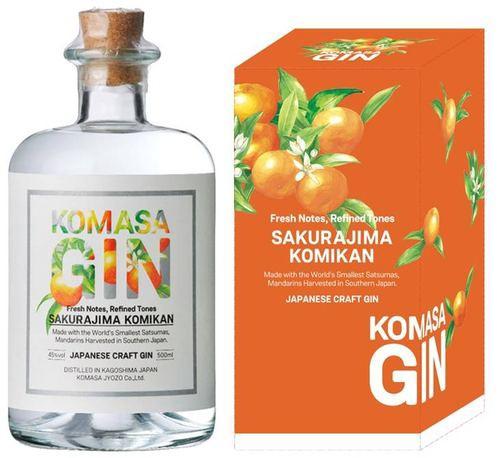 小正醸造 KOMASA GIN(コマサジン) -桜島小みかん...