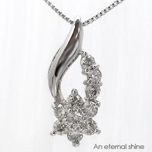 【送料無料】ダイヤモンド ネックレス K18ゴール...