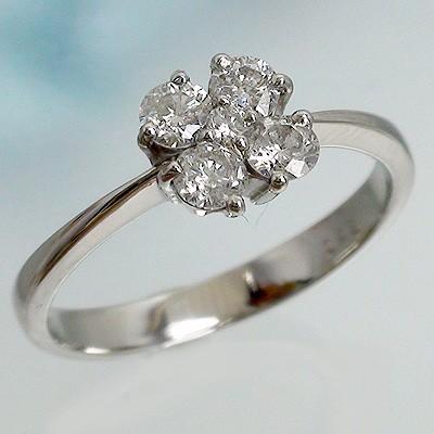 pt900 ダイヤモンドリング プラチナ900 0.42ct フ...