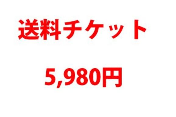 送料チケット5980