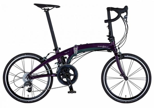 折りたたみ自転車 DAHON 20インチ 外装22段変速ギア Vigor LT ヴィガー  ダホン 軽量 コンパクト ブラック