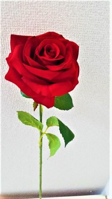 【造花薔薇】【最高級ベルベットローズ】赤いバラ...