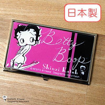 Shinzi Katoh シンジカトウ 【名刺入れ Betty Boo...