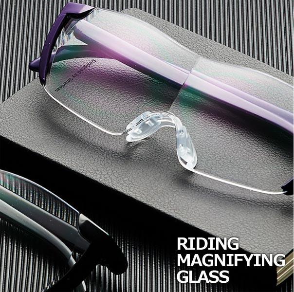 拡大鏡 ルーペ メガネ 1.6倍メガネ型ルーペ /メガ...