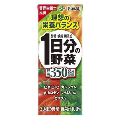 伊藤園 一日分の野菜 200ml×24本入 (送料無料) ...