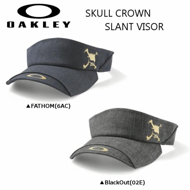 オークリー SKULL CROWN SLANT バイザー 911833JP...