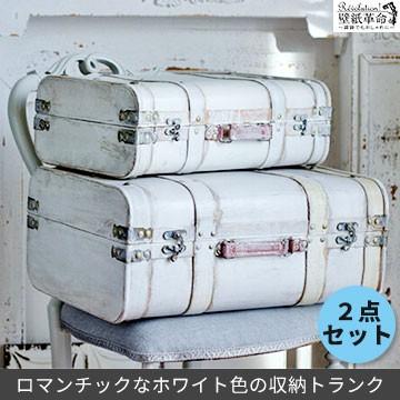 収納ボックス【SWアール トランク 2点セット】雑...