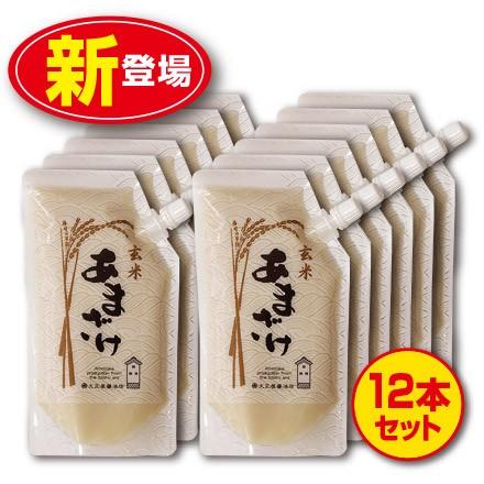 【新登場・送料無料】大正屋醤油店 玄米あまざけ...