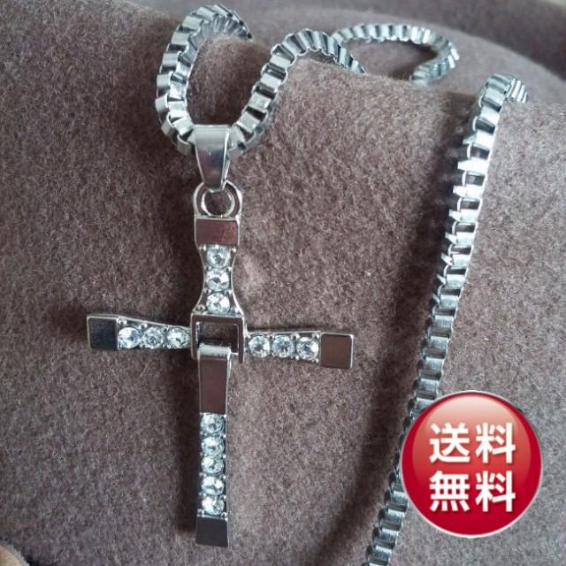 【メール便送料無料】クロスネックスレス★十字架...