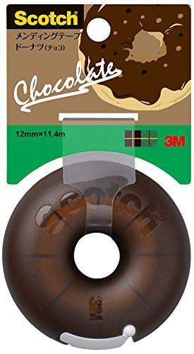 スリーエム メンディングテープ ドーナツ チョコ ...