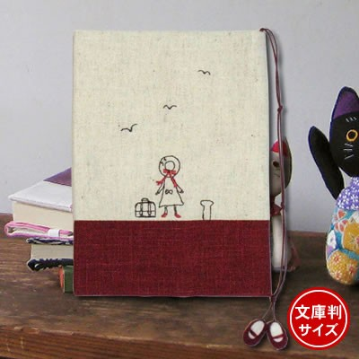 ドン・ヒラノ ブックカバー 赤い靴(文庫判)R レッ...