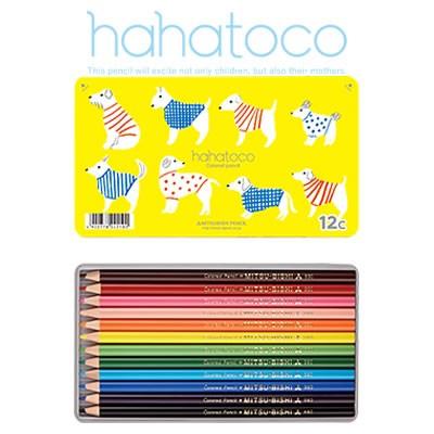 三菱鉛筆 hahatoco(ハハトコ) 色鉛筆<12色セット...