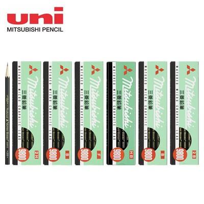 三菱鉛筆 事務用鉛筆 9800<2H〜2B/12本> K9800