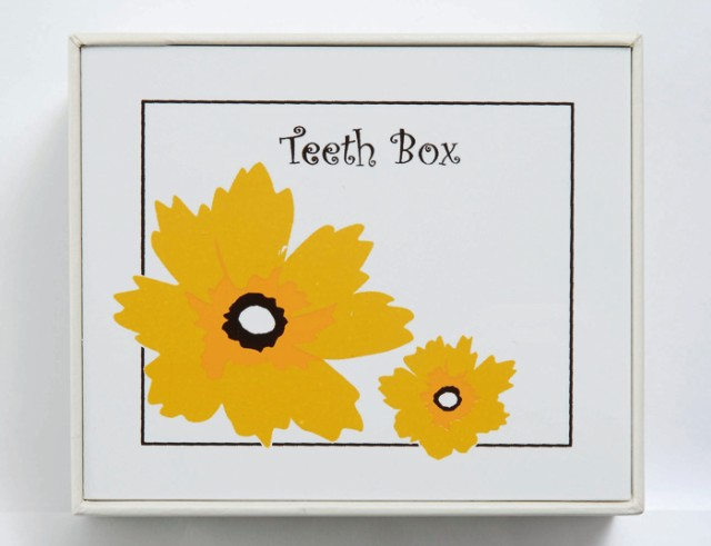 TEETH BOX 乳歯入れ ティースボックス フラワー(...