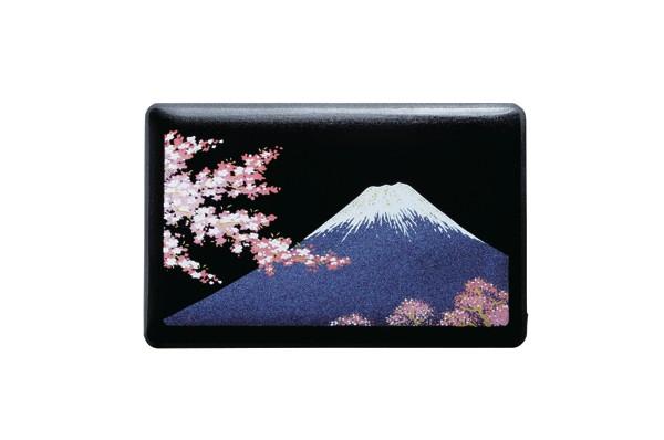 蒔絵 漆芸 モバイルバッテリー 富士に桜 iPhone ...