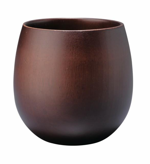 天然木製 エッグカップ ダークブラウン WK-WK15