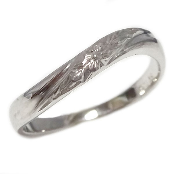 ハワイアンジュエリー リング プラチナ900 指輪 P...