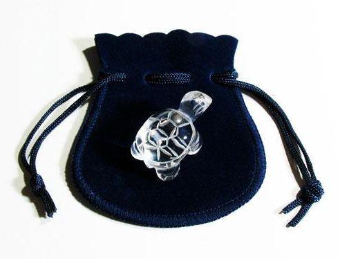 【ミニ彫り物】 かめ 水晶 27mm 1個売り 天然石 ...