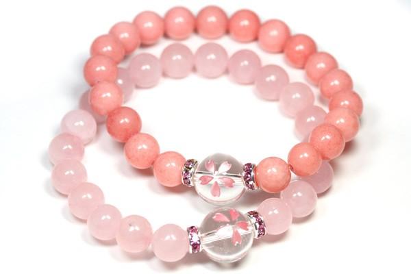 選べる2種類 桜(さくら) デザインブレスレット ...