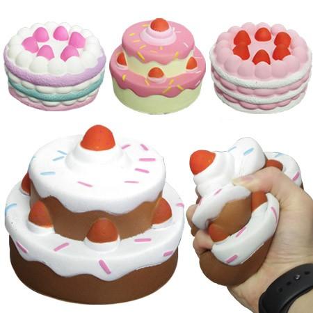 スクイーズ デコレーションケーキ 4種セット スイ...