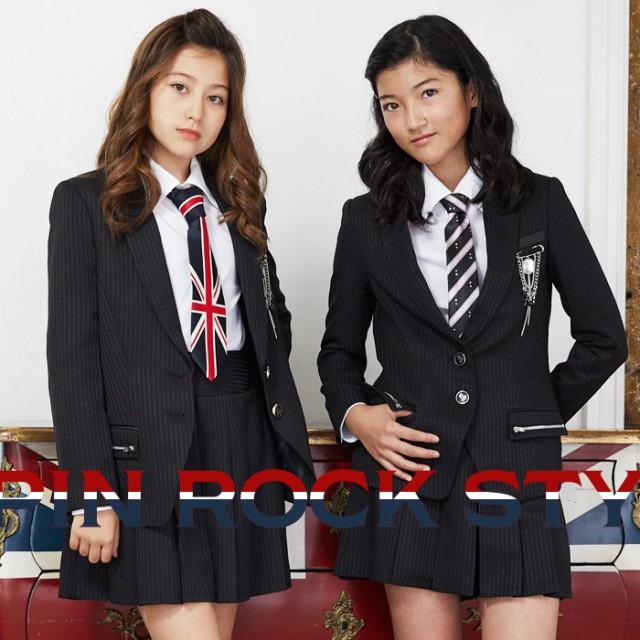 【8%OFF】【卒業式 スーツ 女の子】8901-2503 ダ...