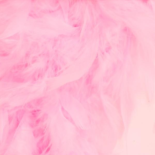 羽根 装飾 『シャンデリー ピンク』