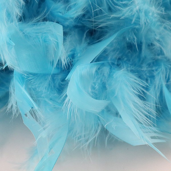 羽根 装飾 『シャンデリー ブル—』