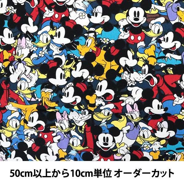 【数量5から】 生地 『生地ディズニー ミッキーマ...
