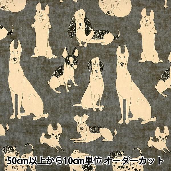 【数量5から】生地 『オックス 犬柄 CC153007-2』...