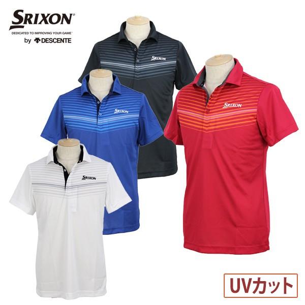 ポロシャツ メンズ スリクソンbyデサント SRIXON ...