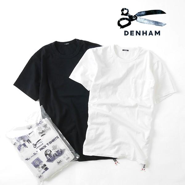 【限定】 DENHAM デンハム 2枚 パックT クルーネ...