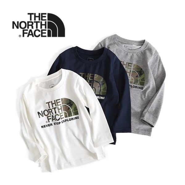 THE NORTH FACE ザ ノースフェイス カモロゴ ロン...