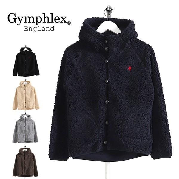 GYMPHLEX ジムフレックス ボアフリースジャケット...