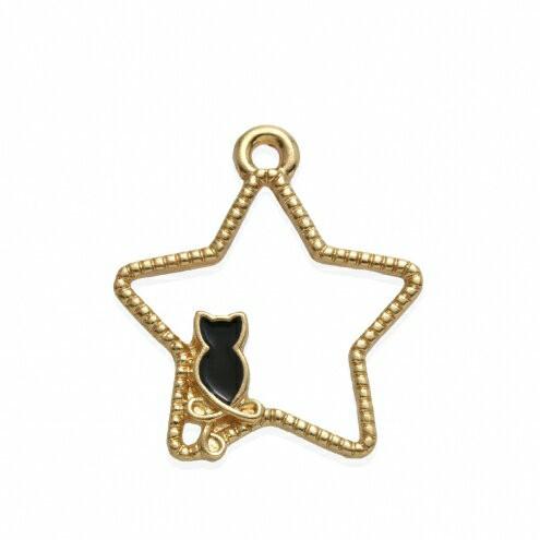 【空枠】星と黒猫  《きれいめゴールド×ブラッ...