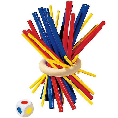 知育玩具 5歳 小学生 HABA スティッキー 木のおも...