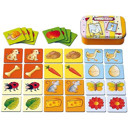 カードゲーム HABA リトルゲーム メモリー 子供 ...