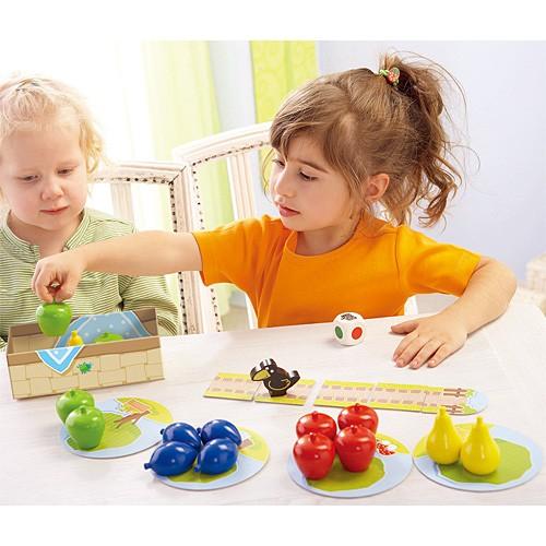 HABA はじめてのゲーム 果樹園 ボードゲーム 子供...