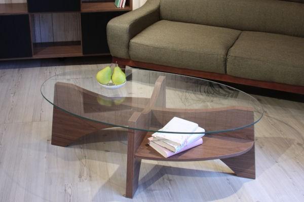 センターテーブル ローテーブル ガラス テーブル ...