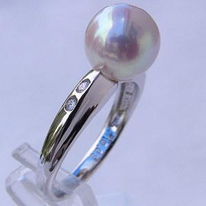 パールリング 真珠の指輪 パール 真珠 リング 指...