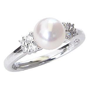 指輪 リング パール 真珠 パールリング 真珠指輪 ...