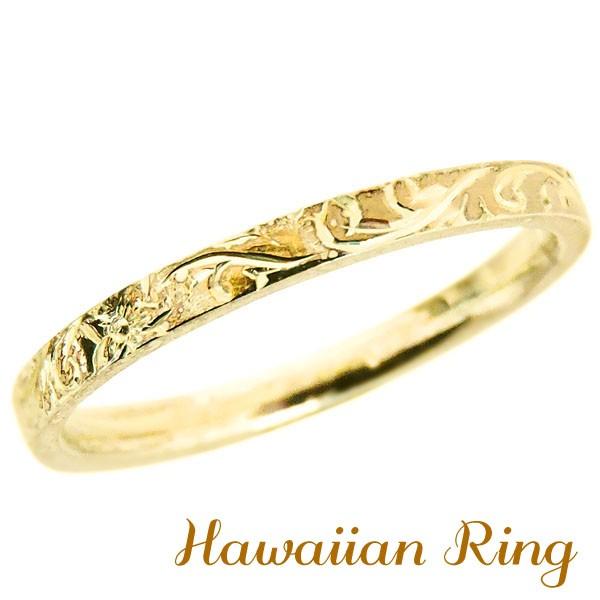 リング ハワイアンリング hawaiian ring 波と花レ...