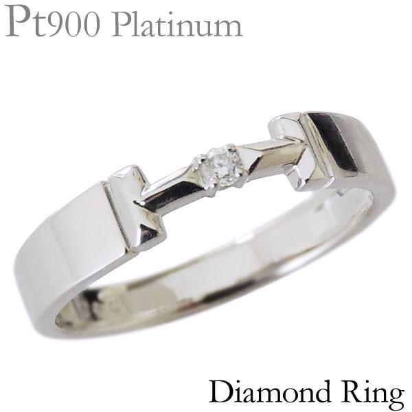 リング ダイヤモンド 1石 0.02ct PT900プラチナ ...