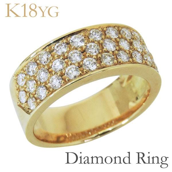 リング フラットバンド パヴェ31石 ダイヤモンド ...